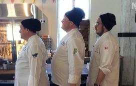 TRE KOCKAR Per Winberg, Michael Björklund och Ted Eloranta utmanar varandra i att gå ned i vikt. Under en månads tid, till att börja med, ska de tre matglada kockarna gå på varsin diet.