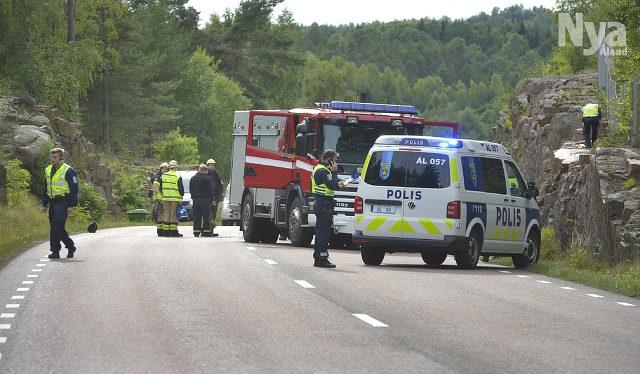 En omkom i trafikolycka