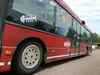 Klimatvänlig skytteltrafik med buss mellan Godby och Mariehamn skulle spara in utsläpp på ungefär 14 miljoner kilo koldioxid per år, har företaget Ålandsbussen Ab räknat ut.