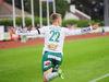 Gustaf Backaliden gjorde mål i sin första match efter den långa skadefrånvaron,.