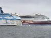Både Tallink Silja och Viking Line kan påverkas av stödstrejken.