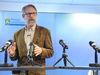 Det finns inget som säger att vi inte plötsligt har flera fall bekräftade i morgon eller i övermorgon, säger landskapsläkaren Knut Lönnroth.