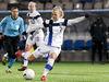 LKS 20210219 Adelina Engman of Finland shoots wide during the UEFA Women's EURO Group E qualifier football match Finland vs Portugal in Helsinki, Finland on February 19, 2021. LEHTIKUVA / EMMI KORHONEN