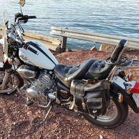Yamaha Virago,1100cc.