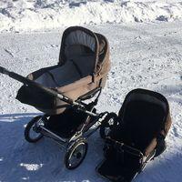 Brio barnvagn med sittinsats
