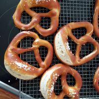 Djupfrysta swabiska bake-off pretzel