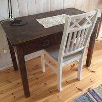 skrivbord/sidbord gammalt